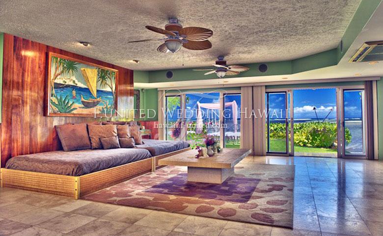 ハワイ ビーチフロントオアシス