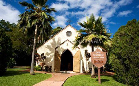 マウイ島 ホーリーイノセンツ教会