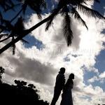 ハワイ挙式後のビーチフォトセッション