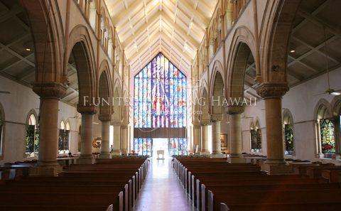 ハワイ セントアンドリュース教会